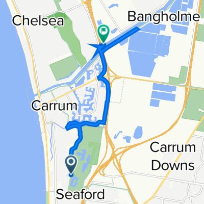 Armstrongs Road, Seaford to Mornington Peninsula Freeway, Bangholme