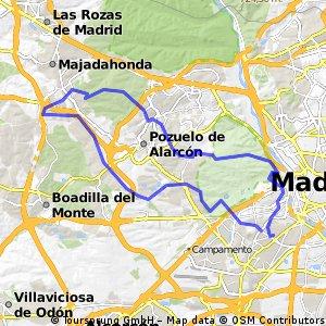 Madrid-Majadahonda-Madrid