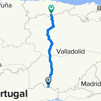 Ruta Vía de la Plata (Castilla y León)