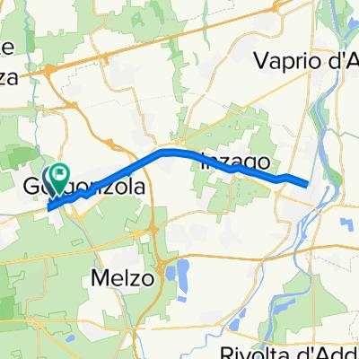 Da Via Enrico Mattei 60, Gorgonzola a Via Enrico Mattei 34, Gorgonzola
