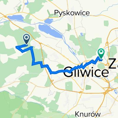 Trasa do Janiny Omańkowskiej 21, Gliwice