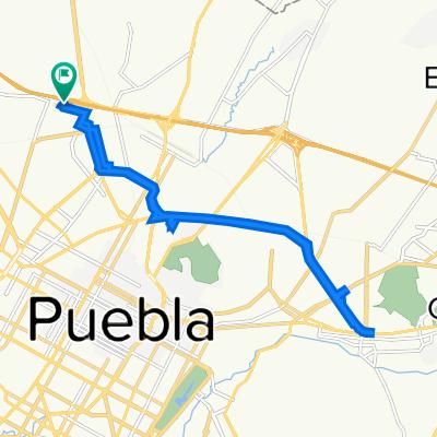 De Independencia Norte 310, Heroica Puebla de Zaragoza a Independencia Norte 310, Heroica Puebla de Zaragoza