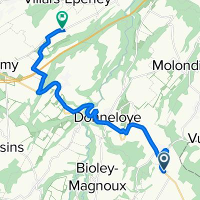 De Le Grand-Chemin 3, Chanéaz à Route du Levant 45, Cuarny