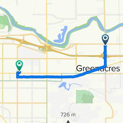 East Maxwell Avenue 18617, Spokane Valley to East Sprague Avenue 13917, Spokane Valley