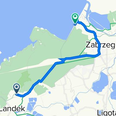Trasa do Do Zapory, Goczałkowice-Zdrój