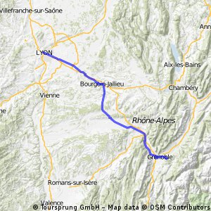 IWRY. Stage 6. Grenoble - Lyon