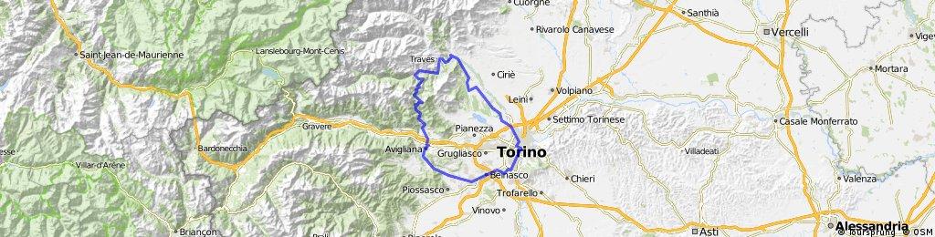Torino - Col de Lys - Torino