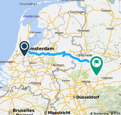 IWRY. Stage 9. Amsterdam - Muenster
