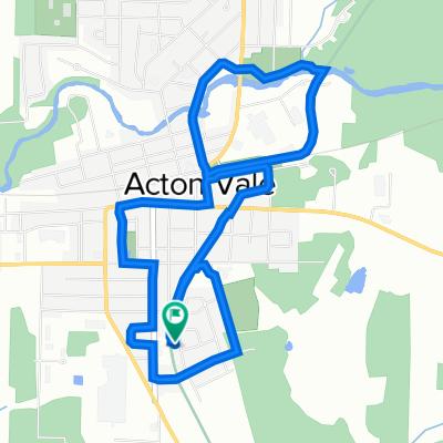De Rue Ménard 413, Acton Vale à Rue Ménard 413, Acton Vale