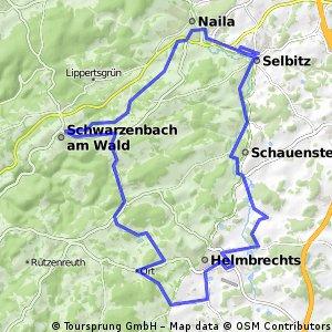 27. Scherdel-Frankenwaldtour 2012 - 45 km