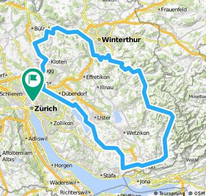Züri-Greifensee-Wald-Tösstal-Winti-Flugh-Züri