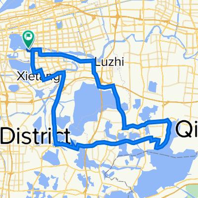 South Loop Jinjihu Budao Jinshuiwan Section, Suzhou