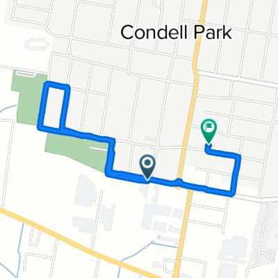 178 Eldridge Road, Condell Park to 40 Yanderra Street, Condell Park