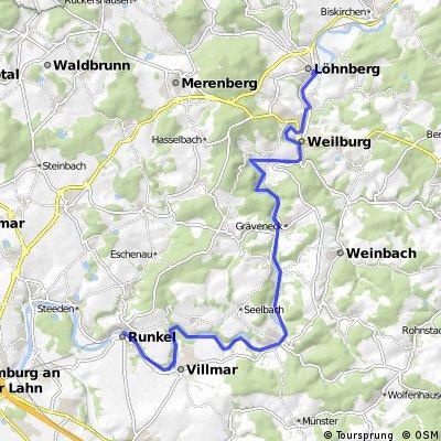 Lahnradweg Löhnberg Runkel - familienfreundlich