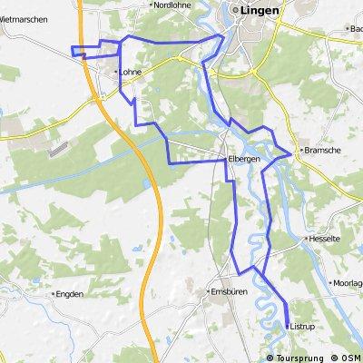 Listrup-Lingen-Lohne-Listrup
