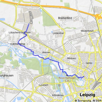 Leipzig-Gohlis zum Porsche Tor 2 Bessere Alternative
