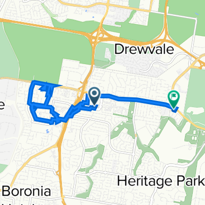 Browns Plains to Sheffield Court 22, Browns Plains