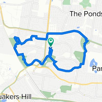 9 Pagoda Crescent, Quakers Hill to 7 Pagoda Crescent, Quakers Hill