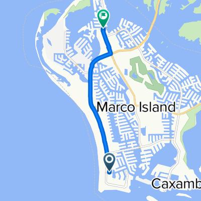 857 Seagrape Dr, Marco Island to 951 Bald Eagle Dr, Marco Island