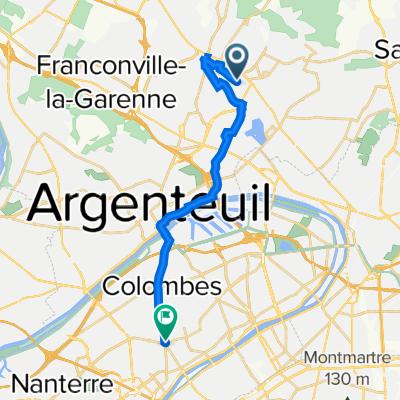 De 32 Avenue Jean Jaurès, Soisy-sous-Montmorency à 147 Avenue du Général de Gaulle, La Garenne-Colombes