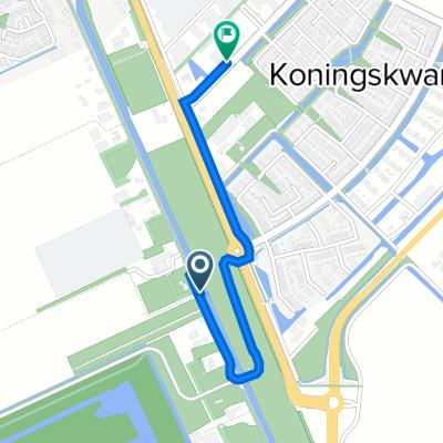 Zuideinde 10, Zevenhuizen naar Koning Willem-Alexanderlaan 7, Zevenhuizen