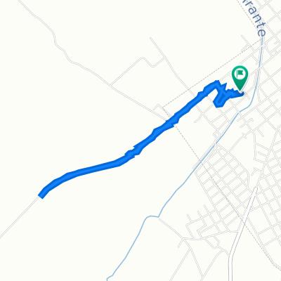 De Avenida Federál, Chamical a Avenida Federál, Chamical