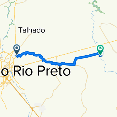 Casa até Rio Turvo