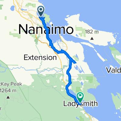 Nanaimo to Ladysmith