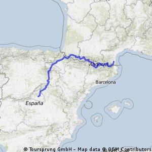 Madrid to Perpignan