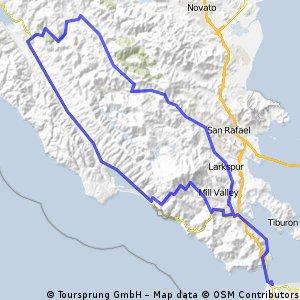 Long Marin Ride