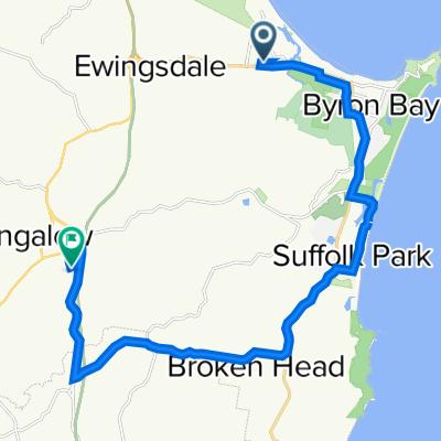 4 Banksia Drive, Byron Bay to 12 Ballina Road, Bangalow