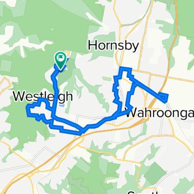Westleigh to Wahroonga loop