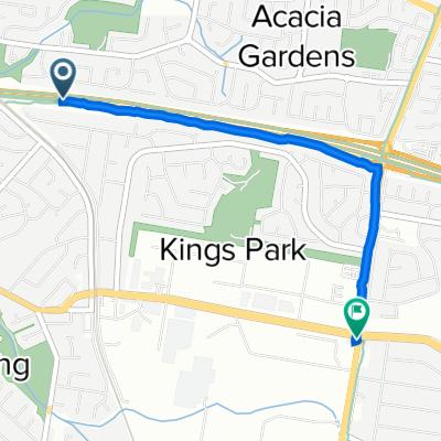 M7 Motorway, Kings Park to 200 Sunnyholt Road, Kings Park