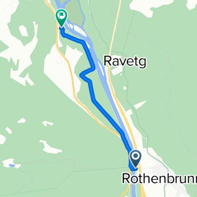 Dorfstrasse, Rothenbrunnen to 13, Rhäzüns