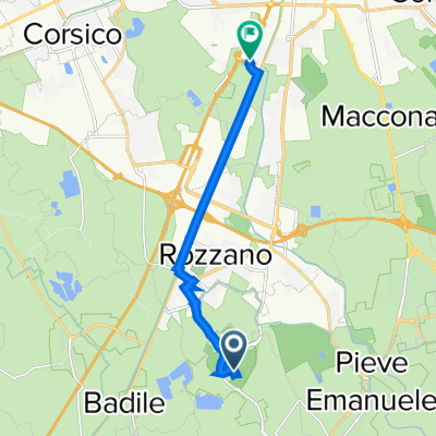 Da Residenza Lago 602, Basiglio a Via Rosa Bianca, Milano