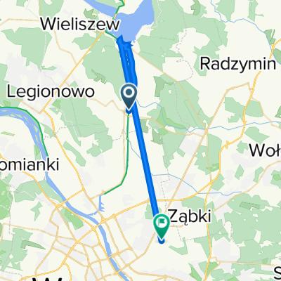 Cyprysowa 53, Stanisławów Pierwszy do Zamkowa 3, Warszawa