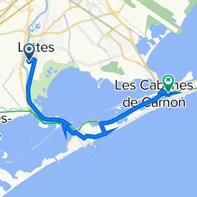 De Rue du Pirée, Lattes à 62–104 Place Saint-Marc, Mauguio