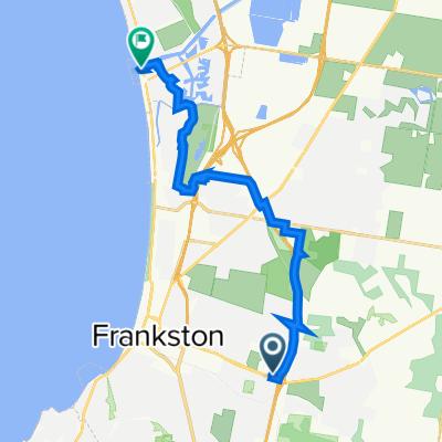 Cranbourne Road 332-334, Frankston to Nepean Highway 607, Carrum