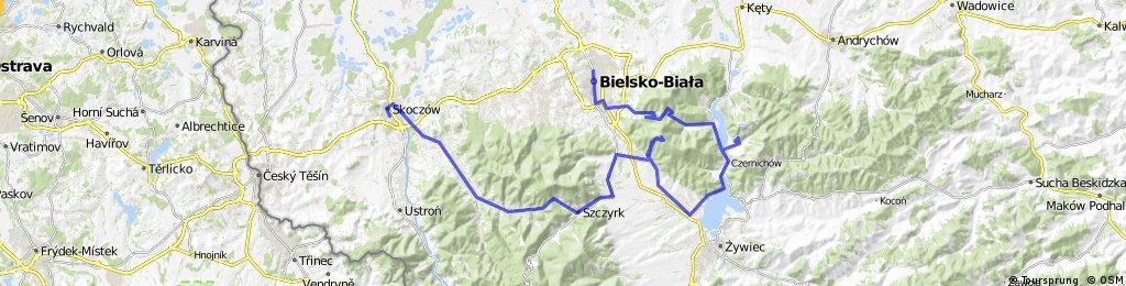 SKOCZÓW -Brenna- MAGURKA -Przegibek- BB (22V'11)