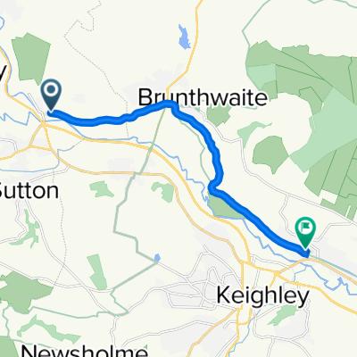 Kildwick to Riddlesden
