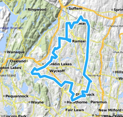 Glen Rock to Airmont CLONED FROM ROUTE 360368