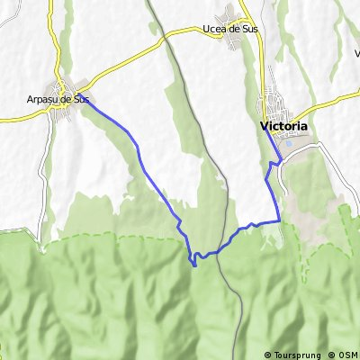 Traseu Victoria - Arpasul de Sus