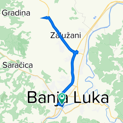 Солунска 8, Бања Лука to Солунска 8, Бања Лука