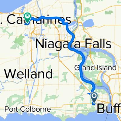 1567–1571 Garrison Rd, Fort Erie to 48–98 Shickluna St, St. Catharines