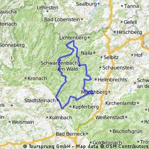 27. Scherdel-Frankenwaldtour 2012 - 100 km
