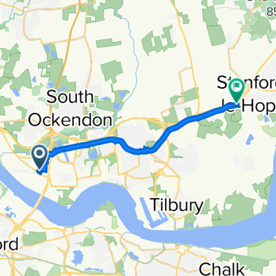 Purfleet by-Pass, Thurrock to Stanford Road, Stanford-Le-Hope