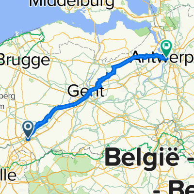 Kortrijk - Antwerpen Linkeroever