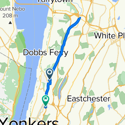 De S County Trailway, Hastings on Hudson a 500–598 Saw Mill River Pkwy S, Yonkers