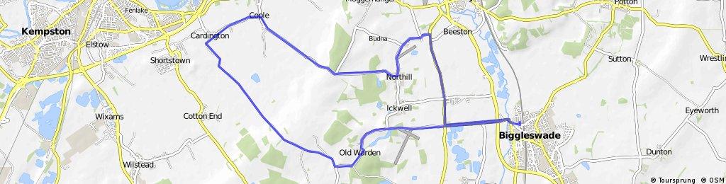 18 mile Old Warden, Cardington & Northill