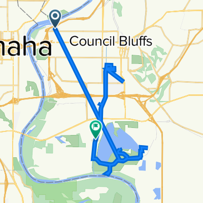 North 35th Street 803, Council Bluffs to Northeast Gifford Road 5019, Council Bluffs